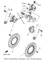 Piston Assembly, Caliper - Yamaha RZ350