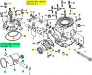 Honda RS250, 1993-2010 - Top End Rebuild Kit