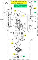Yamaha TZ250, 1999-2002 - Carburetor Rebuild Kit