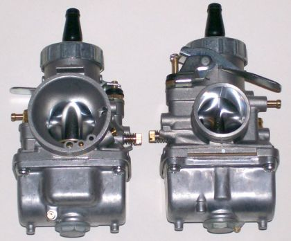 Mikuni 34mm Left Idle Carburetor
